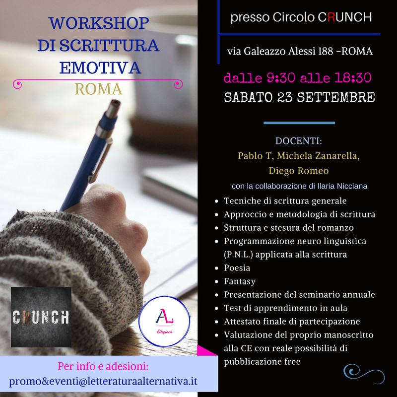 Locandina Workshop Roma -