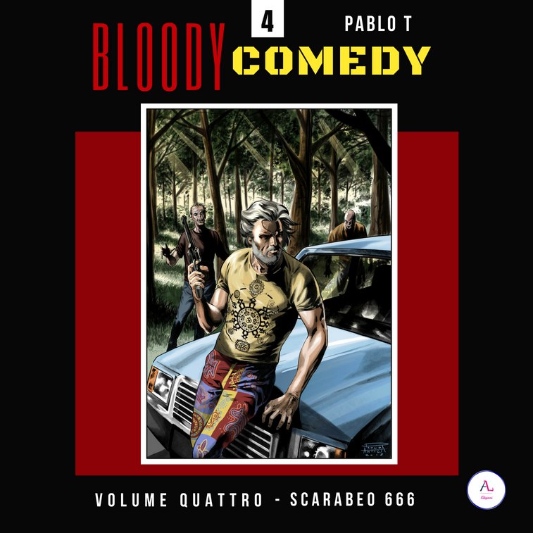 BLOODY COMEDY - VOL. 4 - Scarabeo 666